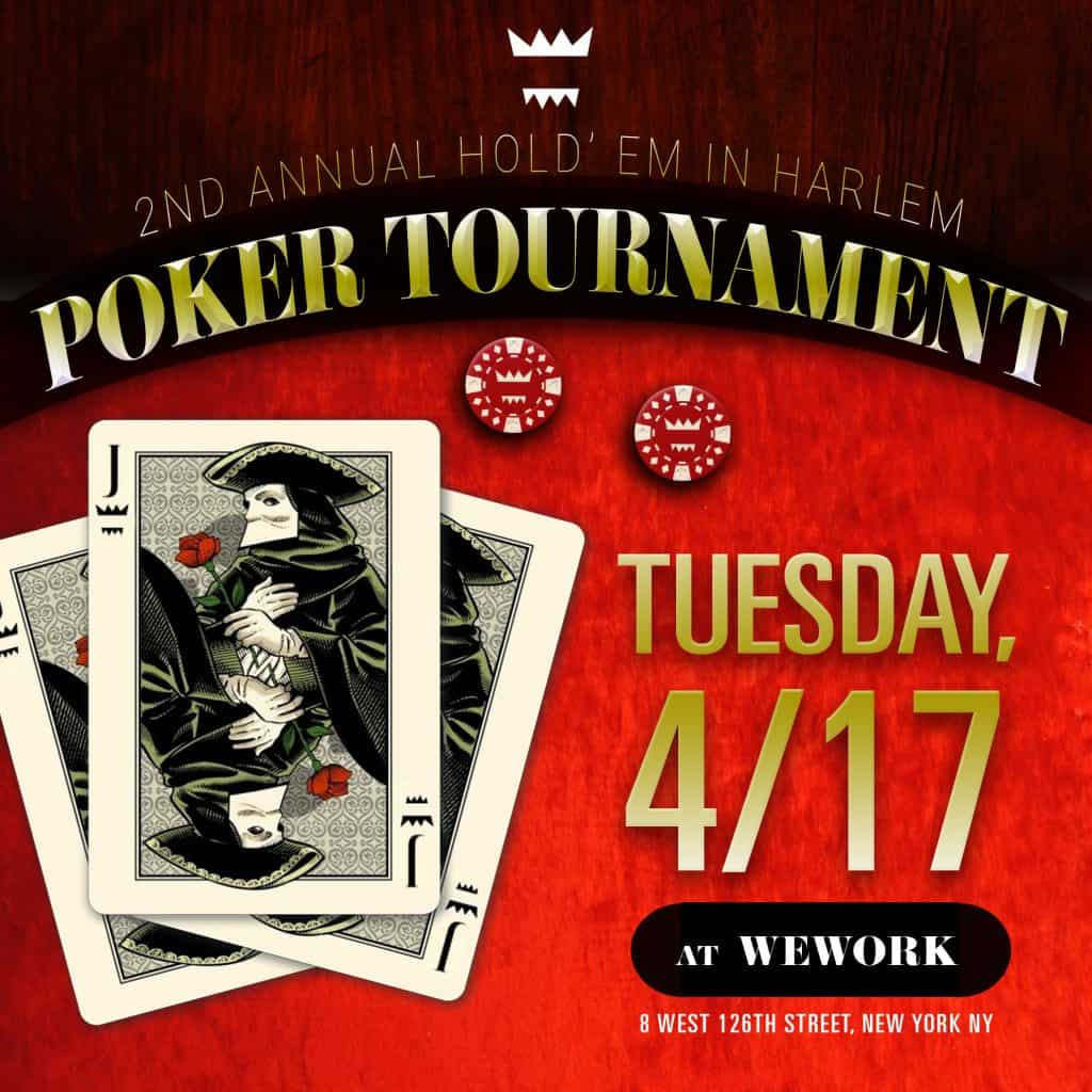 2nd Annual Hold' Em In Harlem Poker Tournament. Buy Tickets: https://www.eventbrite.com/e/second-annual-hold-em-in-harlem-cth-fundraiser-tickets-43900774398